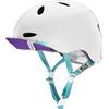Bern Berkeley Helmet Flip Visor Satin White Multi